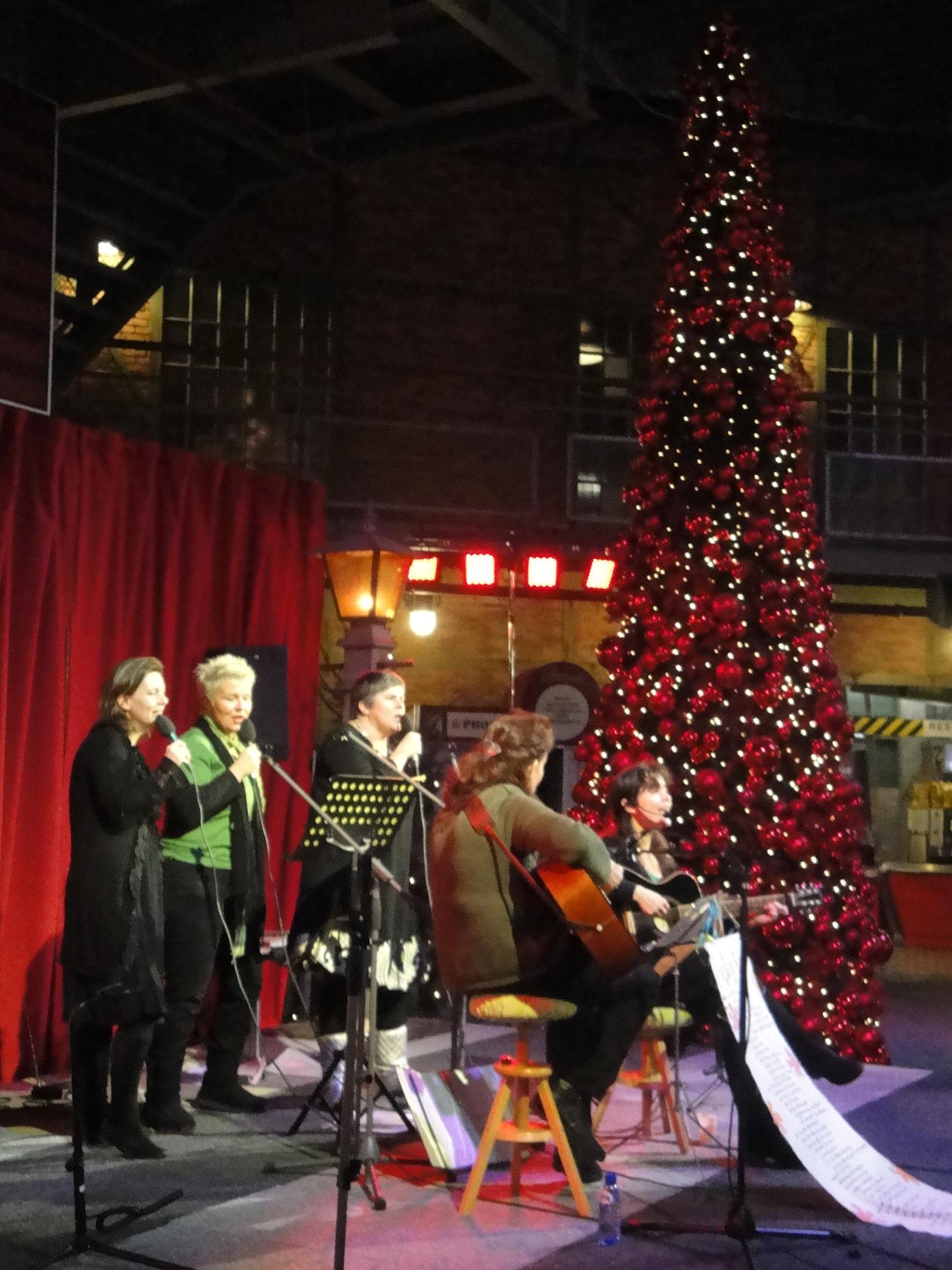 Kerst bij het Spoorwegmuseum